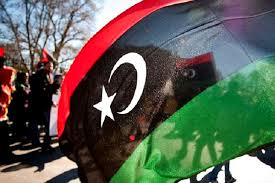 Le drapeau libyen